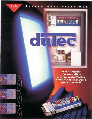 I/O Plexer Spec Sheet - duTec