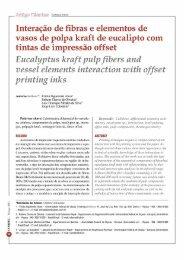 Artigo Tecnico - Interação de fibras e elementos ... - Revista O Papel
