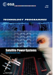 Satellite Power Systems - ESA
