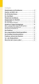 Studentenjobs und Praktikanten 2012 - Wende Verlag Moderne ... - Page 2