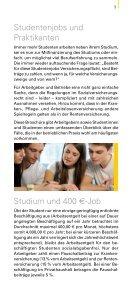 Studentenjobs und Praktikanten 2012 - Wende Verlag Moderne ... - Page 3