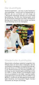 Studentenjobs und Praktikanten 2012 - Wende Verlag Moderne ... - Page 6