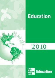 2010 Education - McGraw-Hill Books