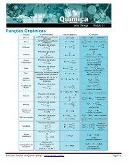Funções Orgânicas - Portal de Estudos em Química