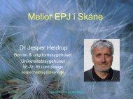 Rapport fra en regional implementeringsproces - EPJ-Observatoriet