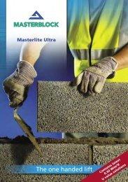 View PDF document - Masonry First