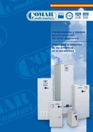 Condensadores y equipos para la corrección del factor de potencia ...