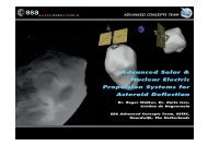 Advanced Solar & Nuclear Electric Propulsion Systems for ... - ESA