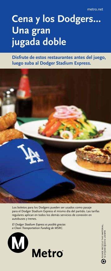 Cena y los Dodgers… Una gran jugada doble - Metro