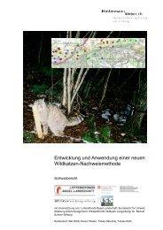 Entwicklung und Anwendung einer neuen Wildkatzen ...