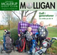 MOLLIGAN, december 2010 - Mollerup Golf Club