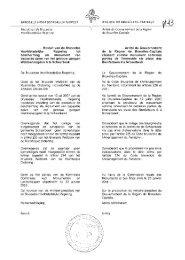 Besluit van de Brusselse Hoofdstedelijke Regering tot bescherming ...