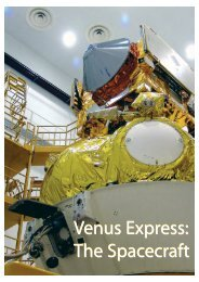 The Spacecraft Venus Express - ESA