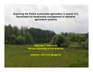 Exploring the Polish sustainable agriculture in search of a ... - PolSCA