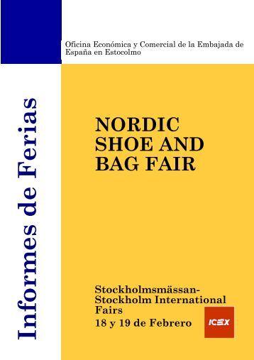 Informes de Ferias Stockholmsmässan- Stockholm International - Icex