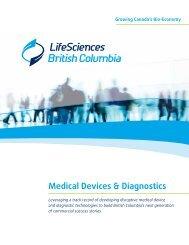 Medical Devices & Diagnostics - LifeSciences BC