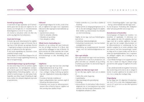 Kontrol af regnskaber - Grundejernes Investeringsfond