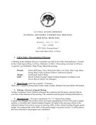 1 MEETING MINUTES 1. Call to Order ... - City of Oakland