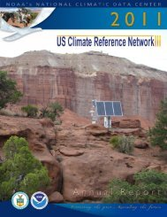 FY11 Annual Report - National Climatic Data Center - NOAA