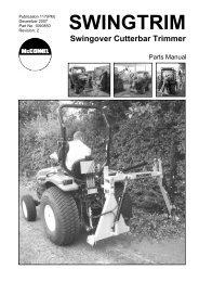 McConnel Swingtrim Parts Manual (pdf - 6.5mb)