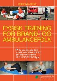 Fysisk træning for brand- og ambulancefolk - BAR transport og engros