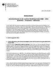 Hintergrundpapier des Bundesumweltministeriums
