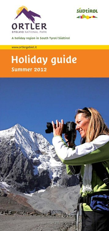 Holiday guide summer 2012