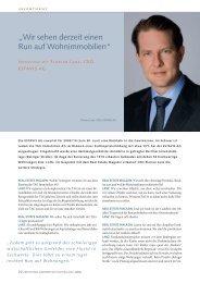 Interview mit Florian Lanz, CEO, Estavis AG - Realestate Magazin