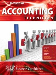 June - 2011 - The Association of Accounting Technicians of Sri Lanka