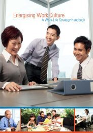 Energising Work Culture - Ministry of Manpower