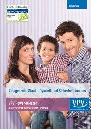 Power-Riester Prospekte - VPV Makler
