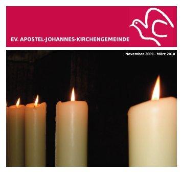 geld-zurück - Ev. Apostel-Johannes-Kirchengemeinde