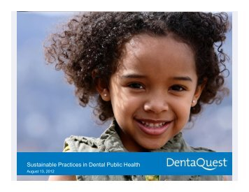 Sustainable Practices in Dental Public Health - Blsmeetings.net