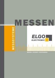 M E S S S Y S T E M E - ELGO Electric GmbH