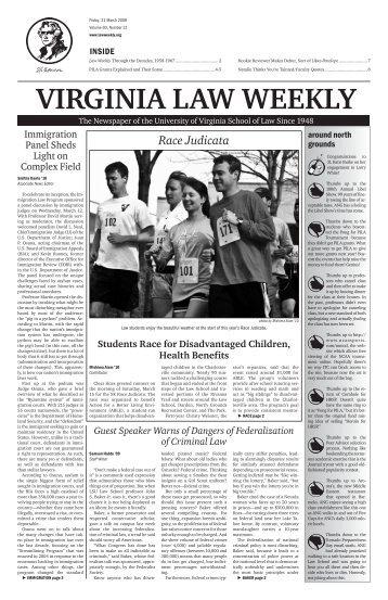 Race Judicata - Virginia Law Weekly