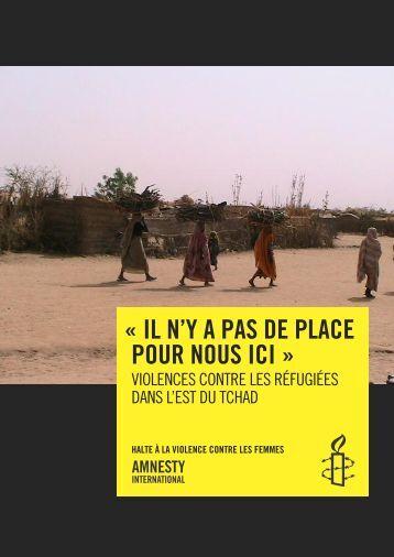 Tchad. « Il n'y a pas de place pour nous ici. » Violences ... - AG Tschad