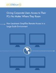 Using Leostream for Remote Access
