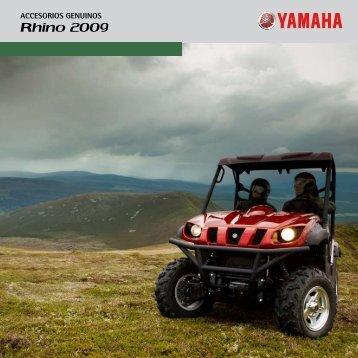 Rhino 2009 - Accesorios de moto y recambios Yamaha