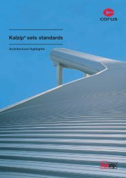 Kalzip® sets standards