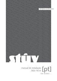 manual de instalação Stûv 16-in [pt] - IMPORCHAMA