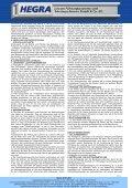 Allgemeine Geschäftsbedingungen - Hegra Linear GmbH - Seite 2