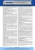 Allgemeine Geschäftsbedingungen - Hegra Linear GmbH - Seite 3