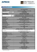 Product catalogue for AVC794 Digital Video Recorder - Page 2