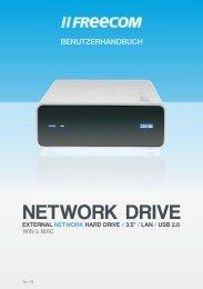 Freecom Network Drive - Benutzerhandbuch - Produktinfo.conrad.com