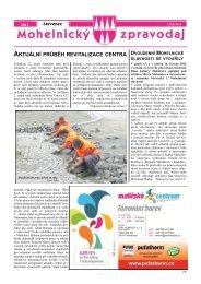 aktuální průběh revitalizace centra - Mohelnické kulturní centrum
