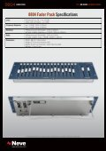 Precision Fader Control for the Neve 8816 ... - Ams-neve.info - Page 2