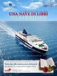 una nave di libri per barcellona - Grimaldi Lines