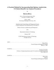 A Practical Method for Incorporating Real Options ... - Title Page - MIT