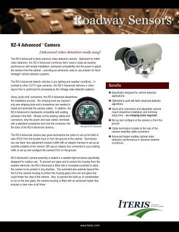 ITERIS RZ4 Advanced - Interprovincial Traffic Services