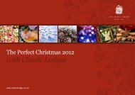 The Perfect Christmas 2012 With Classic Lodges
